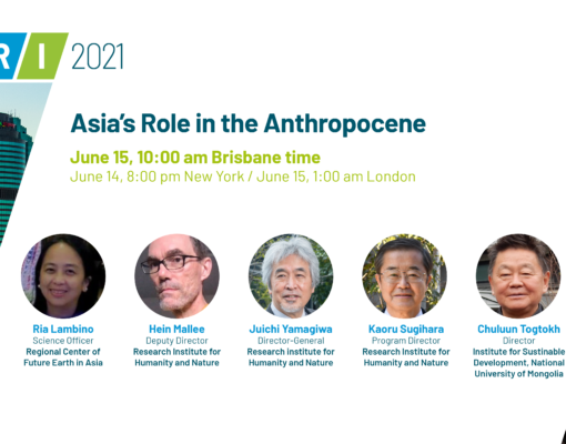 Asia's Role in the Anthropocene